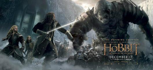 Hobbit Battle of the Five Armies Poster